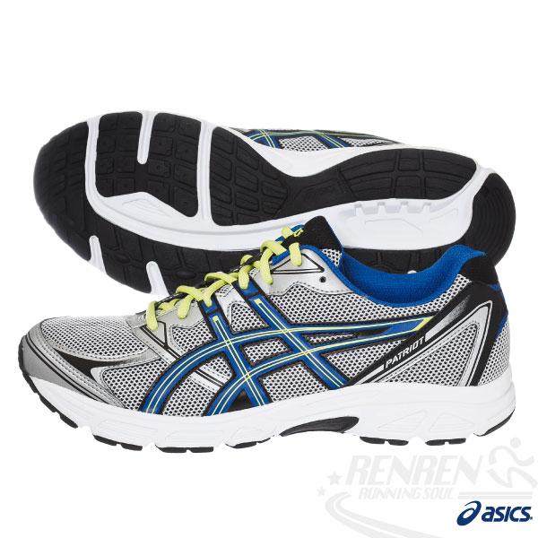 ASICS亞瑟士 男 健康入門慢跑鞋PATRIOT 6(灰*藍) 2014新款 緩衝性佳T3G0N-9347
