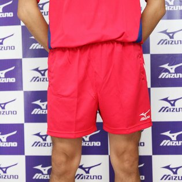 MIZUNO 美津濃 針織球褲(紅色) 三分運動短褲 排球 羽球 桌球適用 透氣排汗