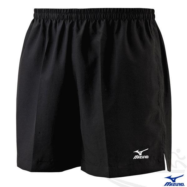 MIZUNO 美津濃 輕質路跑褲(黑) 背部口袋 四分運動短褲
