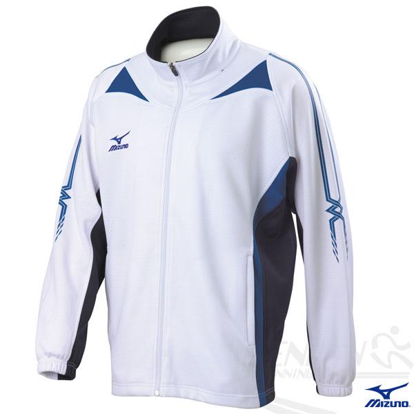 MIZUNO 美津濃 針織運動外套(白XXL.3XL) 針織套裝外套