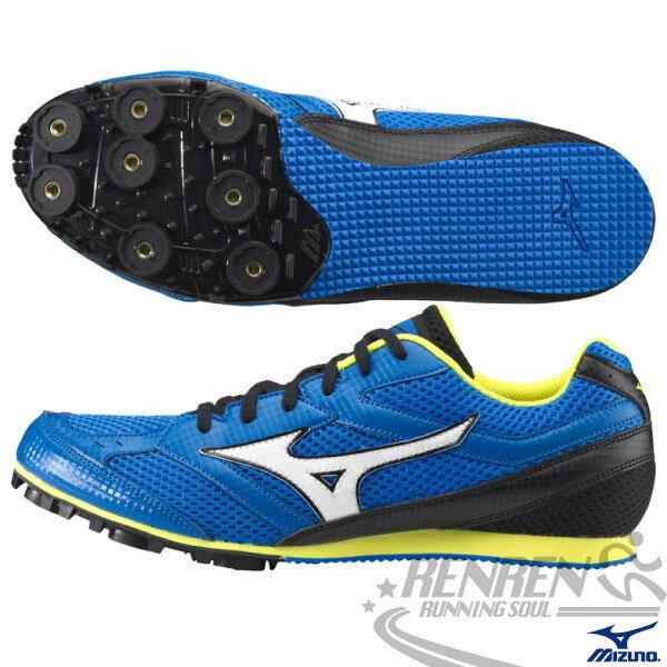 MIZUNO 美津濃 TMC SPLIT 3中長距離田徑釘鞋(藍) 男女同款 7mm可換尖釘