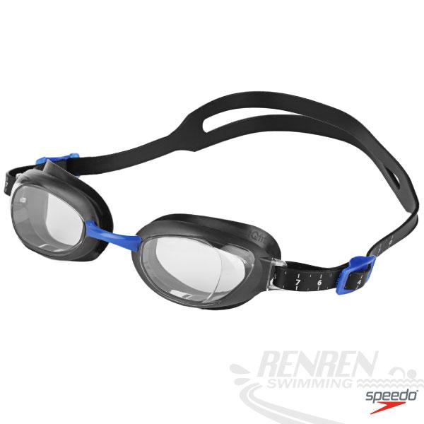 SPEEDO 成人進階型泳鏡 Aquapure(三色) IQ Fit人體工學鏡框SD809006