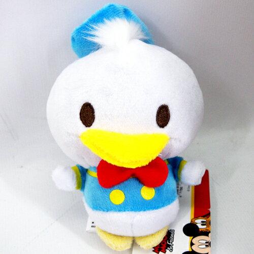 【真愛日本】15070900025 胖嘟嘟變身圓滾滾娃-唐老鴨S  迪士尼Donald Duck  唐老鴨  絨毛娃 正品