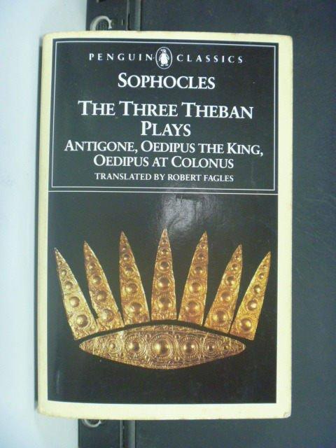 ~書寶 書T8/原文小說_GHZ~The Three Theban Plays_SOPHO