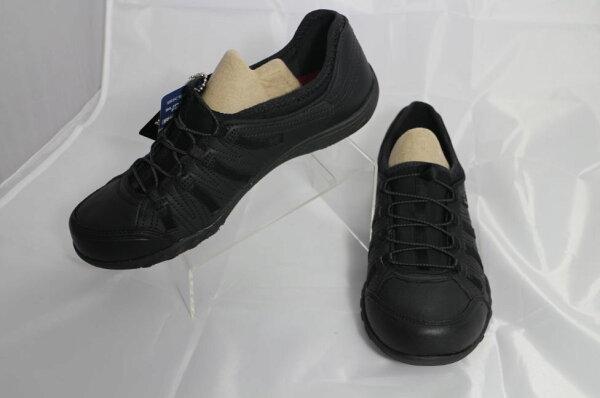 [陽光樂活]SKECHERS (女) WORK RELAXED FIT 防滑大底 健走鞋 工作鞋系列- 76578BLK