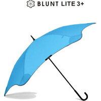 下雨天推薦雨靴/雨傘/雨衣推薦[ BLUNT ] 保蘭特抗風雨傘/勾勾傘/直傘 Lite 3+ 風格藍