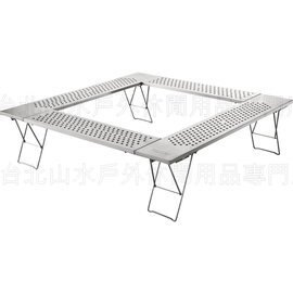 [ Coleman ] 不鏽鋼圍爐桌/焚火台邊桌 CM0397JM000