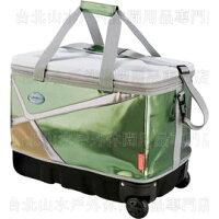 新手露營用品推薦到[ Coleman ] 40L托輪超強保冷袋/行動冰箱/保冰袋/可折收冰桶 CM6809JM000