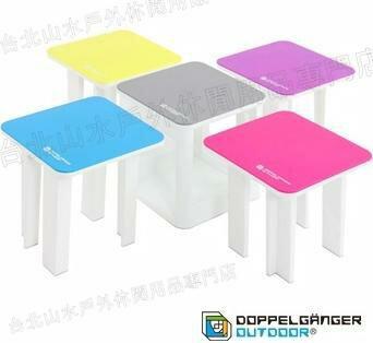 零碼特價/營舞者/Doppelganger/露營用品/五合一摺疊桌椅組/一席五鳥桌椅組 C5-166 日本