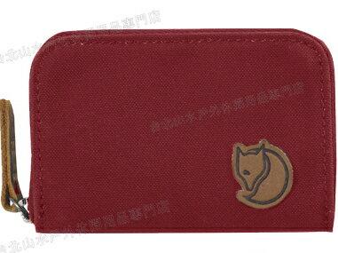Fjallraven 瑞典北極狐 名片夾/零錢包/票夾/信用卡夾/皮夾 Zip Card Holder 24218-325 深紅