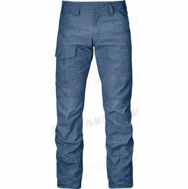 Fjallraven 瑞典北極狐 Nils 登山褲/工作褲/耐磨長褲 男 G-1000 81752 520 大叔藍