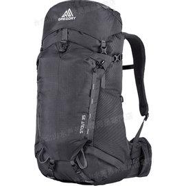 [ Gregory ] 後背包/登山背包/背包客/背包/健行 Stout 35 專業登山包 65021 黑/台北山水