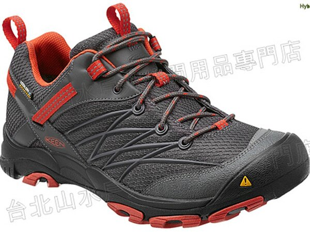 特價出清[ KEEN ] Marshall WP 輕量防水健行鞋/登山鞋/越野鞋 男款 1011541 深灰/橘