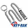[ KEY BAK ] 美國原裝進口 夾式鏈條鑰匙圈 0307-403 (#7403)