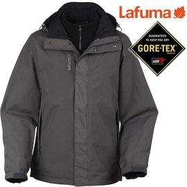 六折特價Lafuma Gore-Tex防水外套/兩件式雪衣/保暖大衣 男款 Jaipur 出國/滑雪/旅遊 LFV8515-2599 深灰