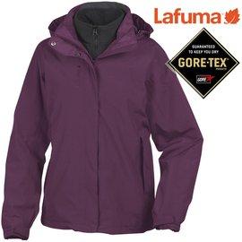 六折特價Lafuma Gore-Tex防水外套/兩件式雪衣/保暖大衣 女款 Jaipur 出國/滑雪/旅遊 LFV8442 5600 華紫
