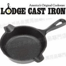 [ Lodge ] LAT3 Cast Iron Spoon Rest 鑄鐵小圓煎盤/迷你荷蘭鍋/鑄鐵菸灰缸/置勺架/湯匙架