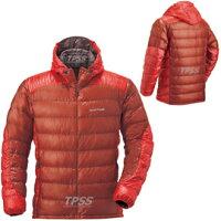 保暖服飾推薦[ Mont-Bell ] UL Alpine 800FP 超輕量鵝絨 連帽羽絨外套/羽毛衣/雪衣Ballistic 男款 1101384-PK 椒紅 montbell