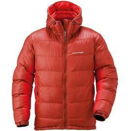 [ Mont-Bell ] 頂級鵝絨800FP BOX 立體隔間 連帽羽絨衣 羽毛衣 雪衣 男款 1101407 PASR 紅色 montbell