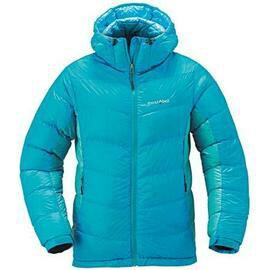 L零碼特價[ Mont-Bell ] 頂級鵝絨800FP BOX 立體隔間 連帽羽絨衣 羽毛衣 雪衣 女款 1101408 PBLT 藍色 montbell