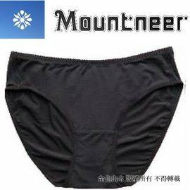 [ 山林 Mountneer ] 11K80-01 黑色 女透氣三角內褲/排汗內褲