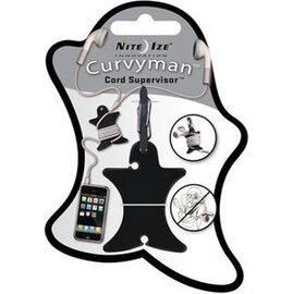 [ NITE IZE ] CVM-03-01 Curvyman 柯曼繞線器/耳機捲線器 黑色