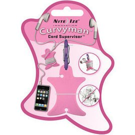 [ NITE IZE ] CVM-03-12 Curvyman 柯曼繞線器/耳機捲線器 粉色