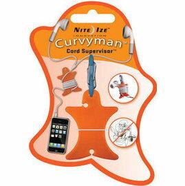 [ NITE IZE ] CVM-03-19 Curvyman 柯曼繞線器/耳機捲線器 橙色