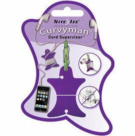 [ NITE IZE ] CVM-03-23 Curvyman 柯曼繞線器/耳機捲線器 紫色
