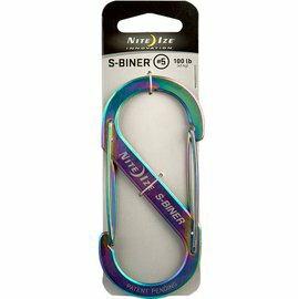 [ NITE IZE ] SB5-03-07 光譜 S-Biner S型不鏽鋼雙面扣環/8字扣 5號