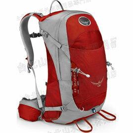 [ Osprey ] Kestrel 32 小鷹輕量多功能專業後背包 紅色