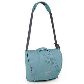 [ Osprey ] Flapjill Mini 側背包/郵差包/電腦包 女款 動感系列 Cornflower 藍色