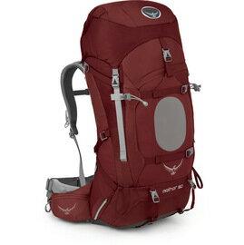[ Osprey ] Aether 60 蒼穹 專業登山健行大背包/登山背包 013060 Arroyo Red 阿羅紅