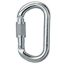 [ Petzl ] M33 SL OK ScrewLock 帶鎖鉤環/O型勾環 銀色