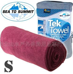 [ Sea to Summit ] Tek Towel S 舒適快乾毛巾 ATTTEKSBE 桃紅