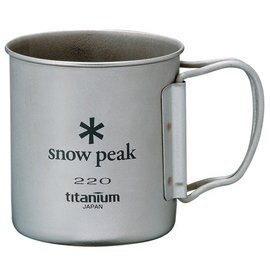 [ Snow Peak ] 鈦杯/登山杯/單層輕量鈦合金隨身杯 220ml MG-041FHR