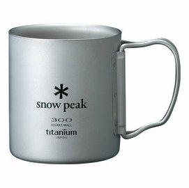 [ Snow Peak ] 鈦杯/保溫杯/雙層斷熱鈦合金隨身杯 300ml MG-052FHR