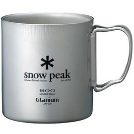 [ Snow Peak ] 鈦杯/保溫杯/雙層斷熱鈦合金隨身杯 600ml MG-054R