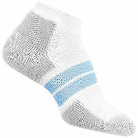 [ Thorlos ] 84N 跑步襪/路跑專用襪 舒適吸震加厚 84NRCW 女款 213白/水藍