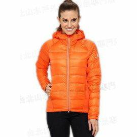 [ Westcomb ] 加拿大製 12FHD04 女款 Cayoosh Lt Hoody 900FP頂級加拿大鵝絨 輕量彈性連帽羽毛衣/保暖羽絨衣 亮橘