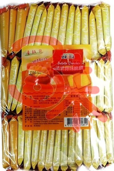 (馬來西亞) 健康日誌洋芋脆餅-蒜味 408公克 89元 【4711402825851】(法式蒜味脆餅) 另有海苔,起士,泡菜,黑麻!