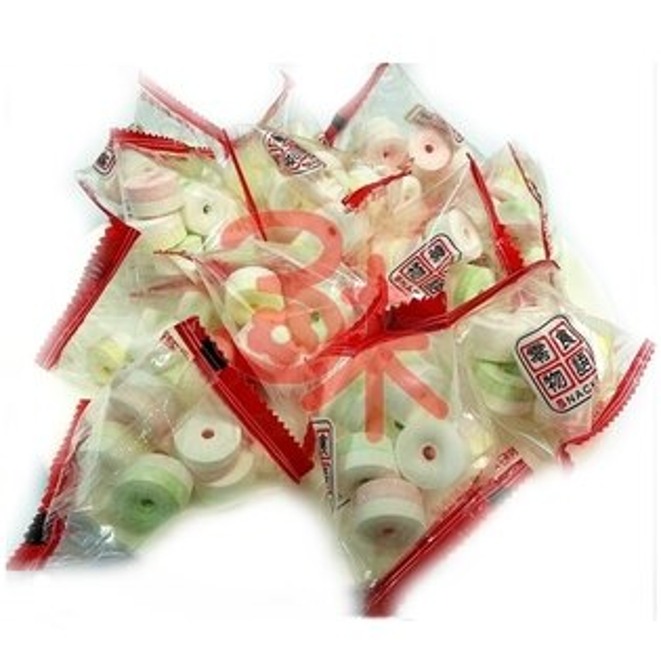 (台灣) 來新 零食物語粽型口笛糖(嗶嗶糖果/口哨糖果)600公克(1斤) 90元