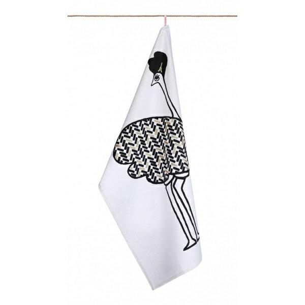 《法國 La Cocotte Paris》White Hannette Tea Towel 茶巾 0