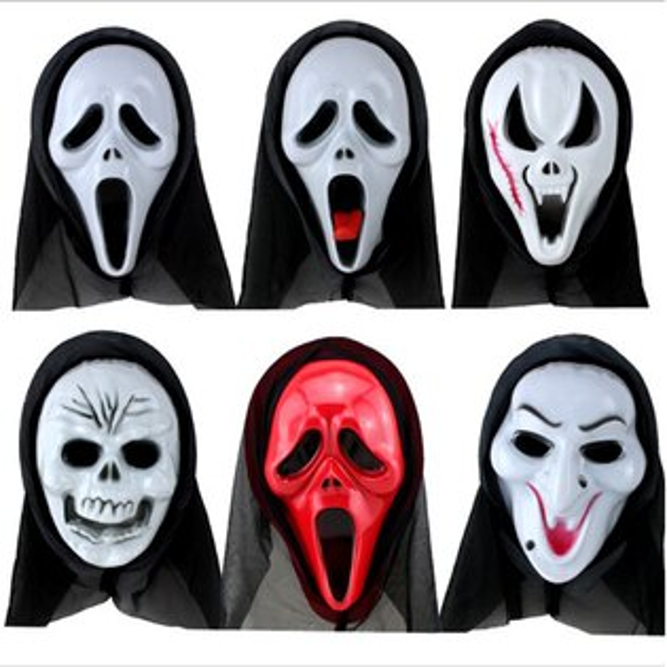 tangyizi輕鬆購【DS060】萬聖節派對表演 恐怖面具道具驚聲尖叫吸血鬼惡搞驚嚇