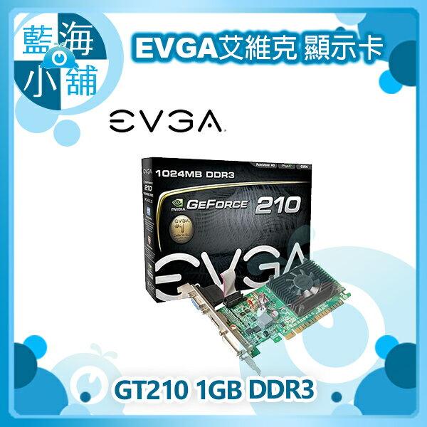 EVGA 艾維克 GT210 1GB DDR3 顯示卡