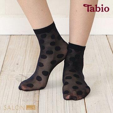 日本靴下屋Tabio 除臭大圓點短襪