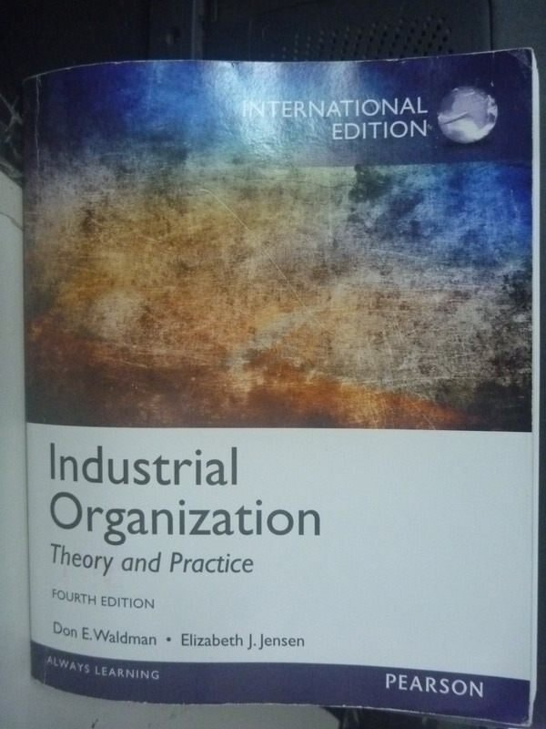~書寶 書T4/大學商學_ZAJ~Industrial organization 4 e