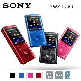SONY Walkman數位隨身聽(NWZ-E383)