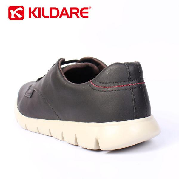 Kildare 巴西綁帶休閒鞋 黑 男 休閒慢跑 6
