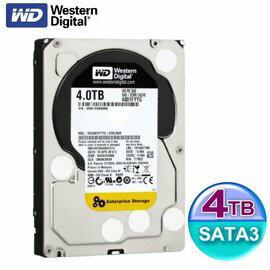 WD 威騰 4TB【SAS / 4001FYYG】企業級Re 5年保 3.5吋 7200轉 內接硬碟